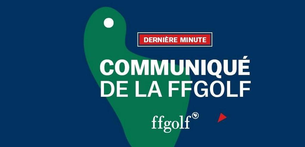 Ffgolf Calendrier 2021 Comme une odeur de reprise, Réaction de la ffgolf au discours du